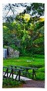 Wayside Inn Grist Mill Beach Towel