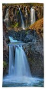 White River Falls State Park Beach Towel