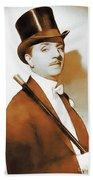 William Powell, Hollywood Legend Beach Towel