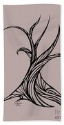 Willow Curve Beach Towel