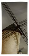 Windmills At Campo De Criptana Beach Towel