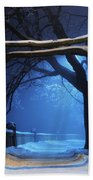 Winter Beach Towel