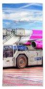 Wizz Air Airbus A321 Beach Towel