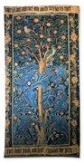 Woodpecker Tapestry Beach Towel