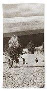 World War I: Zeppelin Beach Towel