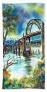 Yaquina Bay Bridge Beach Sheet