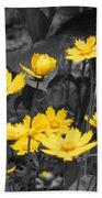 Yellow Lust Beach Towel