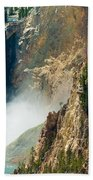 Yellowstone Waterfalls Beach Towel