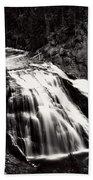 Yellowstone's Gibbon Falls Beach Towel