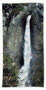 Yosemite Bridal Veil Falls Beach Towel