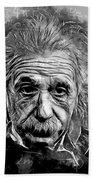 Albert Einstein Beach Towel