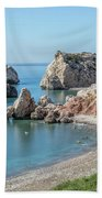 Aphrodite's Rock - Cyprus Beach Towel