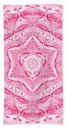 Birth Mandala- Blessing Symbols Beach Sheet