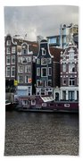 Canals Of Amsterdam Beach Towel