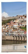 City Of Porto In Portugal Beach Towel