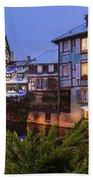Colmar,petite Venice, Alsace, France, Beach Towel