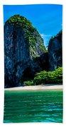 Krabi Beach 2 Beach Towel