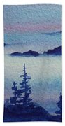 10 Mile Overlook Beach Towel