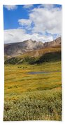 Mount Bierstadt In The Arapahoe National Forest Beach Towel
