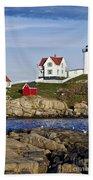 Nubble Lighthouse Beach Towel