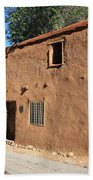 Santa Fe - Adobe Building Beach Towel