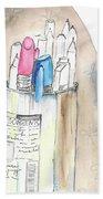 Sketches Beach Towel