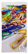100 Paperclips Beach Towel