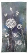 #1083 Wild Flower #1 Beach Towel