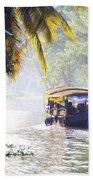 Backwaters Kerala - India Beach Towel
