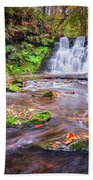 Goit Stock Waterfall Beach Towel