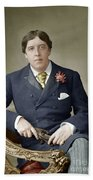 Oscar Wilde (1854-1900) Beach Towel