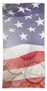 Usa Finance Beach Towel