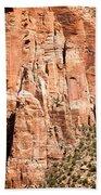 Zion Canyon National Park Utah Beach Towel