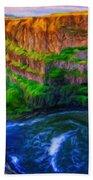 Nature New Landscape Beach Towel