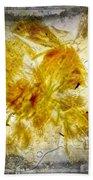 11265 Flower Abstract Series 02 #18 - Carnation 2 Beach Towel