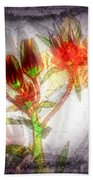 11305 Flower Abstract Series 03 #5 Beach Towel