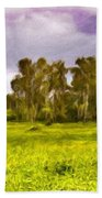 Landscape Nature Scene Beach Towel