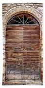 1165 Assisi Italy Beach Towel