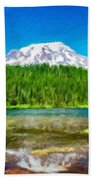 Nature Cool Landscape Beach Towel