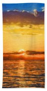 Nature Landscape Artwork Beach Towel