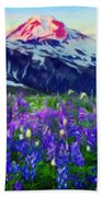 Nature Landscape Graphics Beach Towel