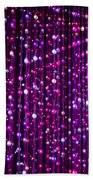 Abstract Lights Beach Towel