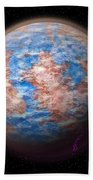 Abstract Planet Beach Towel