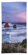 12 Apostles At Sunset II Beach Towel