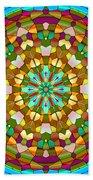 Mandala Ornament Beach Towel