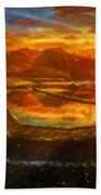 Landscape Definition Nature Beach Towel