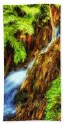 Nature Art Landscape Canvas Art Paintings Oil Beach Towel