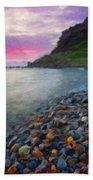 Landscape Paintings Nature Beach Towel