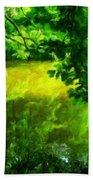 Oil Paintings Art Landscape Nature Beach Towel