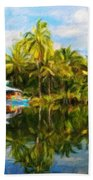 Landscape Nature Pictures Beach Towel